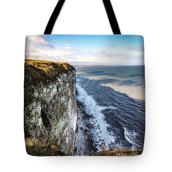 Tote Bag featuring the photograph Cliffside View by Anthony Baatz
