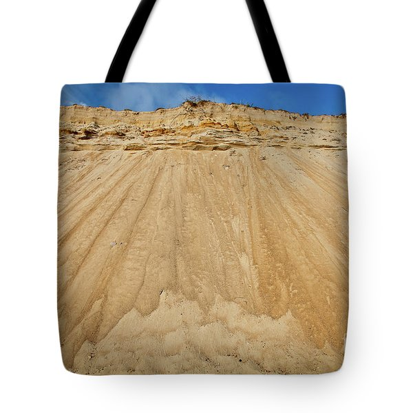 Tote Bag featuring the photograph Cliffward by Susan Cole Kelly