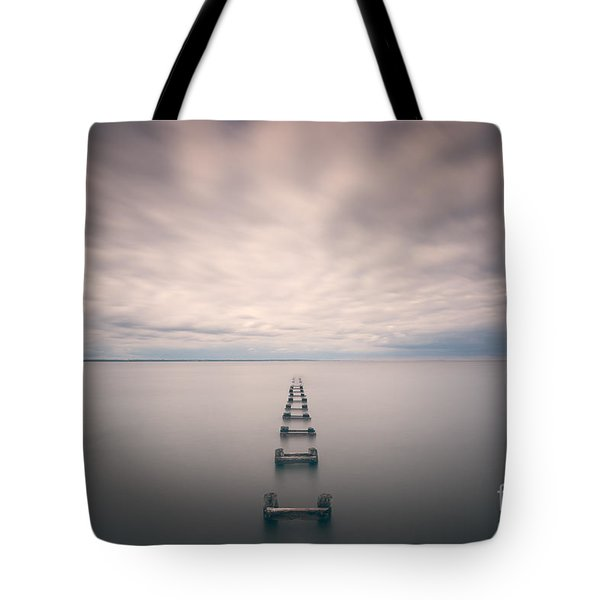 Cliffwood Sea Wall  Tote Bag