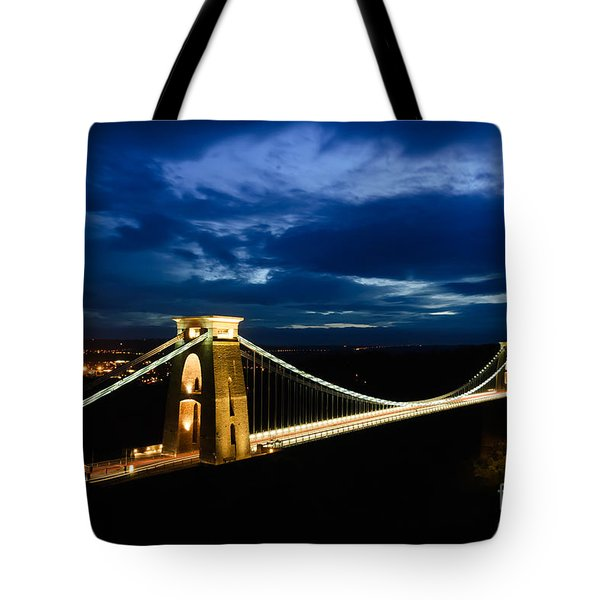 Clifton Suspension Bridge, Bristol. Tote Bag by Colin Rayner
