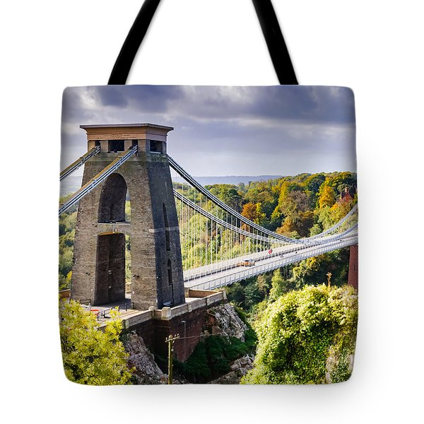 Clifton Suspension Bridge Tote Bag