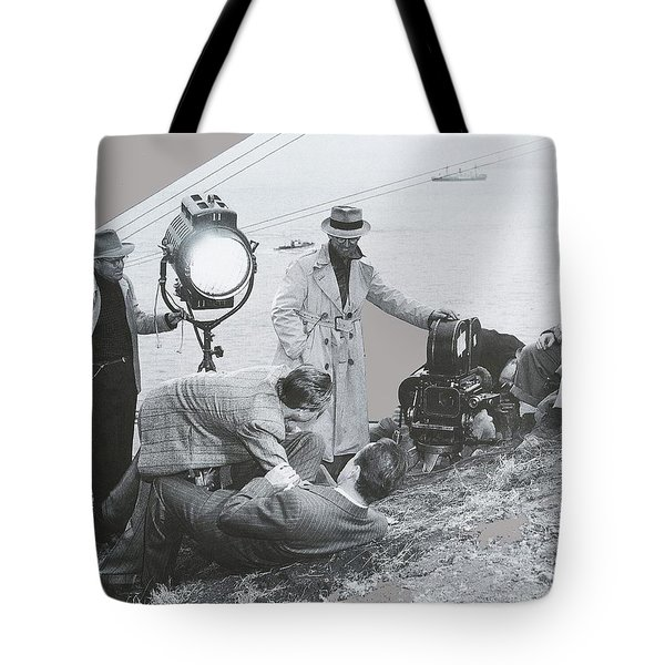 Clifton Young And Bogie Fight To The Death Dark Passage 1947-2016 Tote Bag