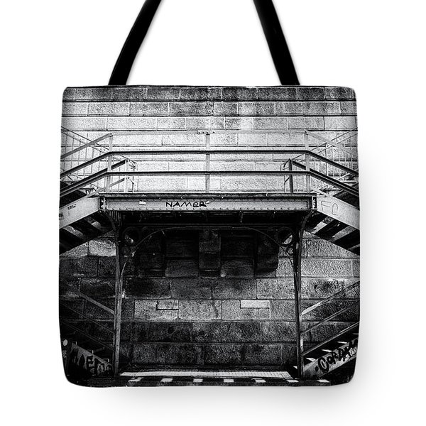 Climb The Stairs Tote Bag