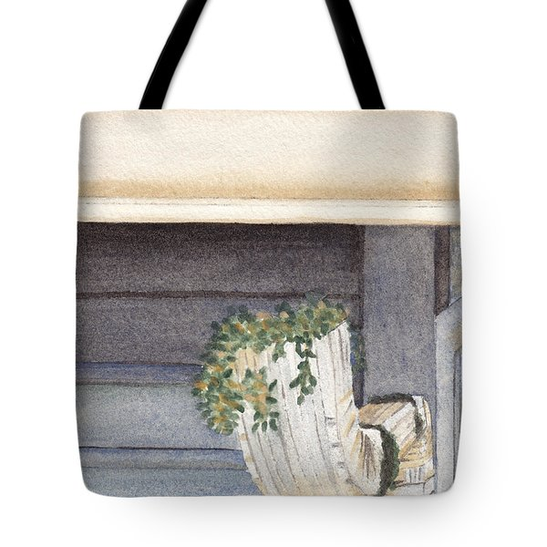Climbing Out Of The Gutter Tote Bag