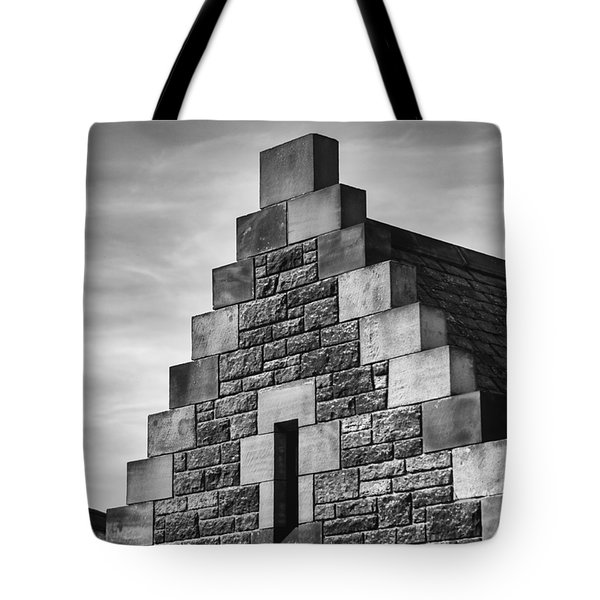 Tote Bag featuring the photograph Climbing The Castle by Christi Kraft