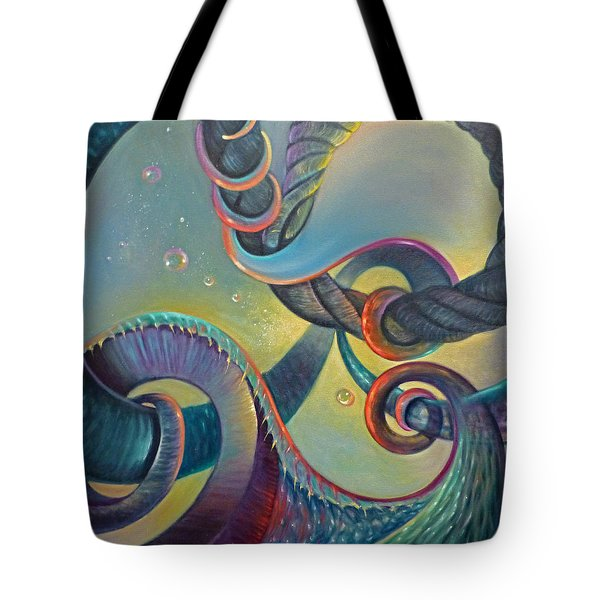 Clinging Tote Bag
