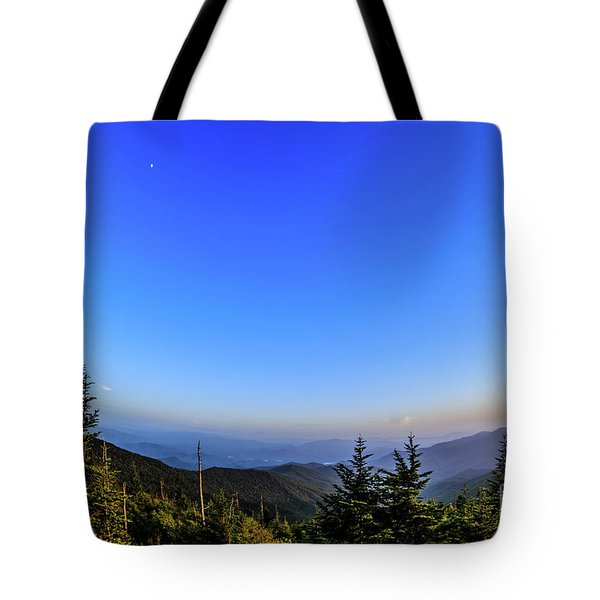 Clingmans Dome Sunset II Tote Bag