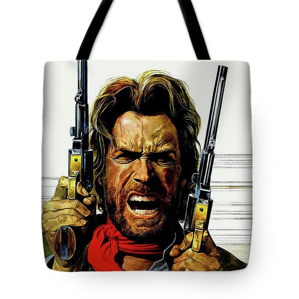 Clint Eastwood As Josey Wales Tote Bag