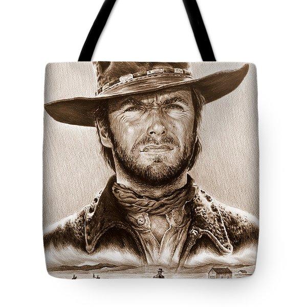 Clint Eastwood The Stranger Tote Bag