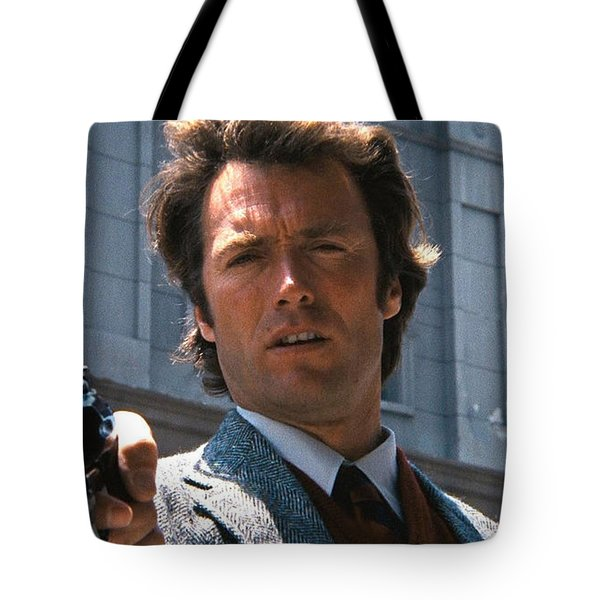 Clint Eastwood With 44 Magnum Dirty Harry 1971 Tote Bag