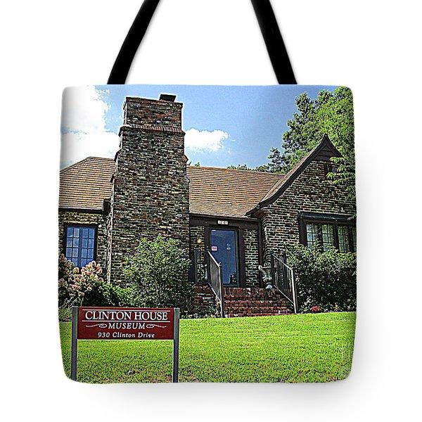 Clinton House Museum 1 Tote Bag