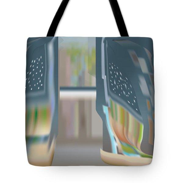 Cloak City Tote Bag