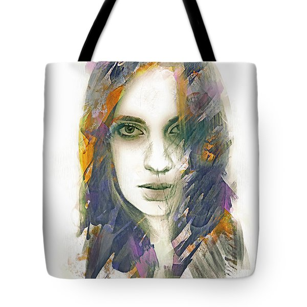 Tote Bag featuring the digital art Cloak by Galen Valle