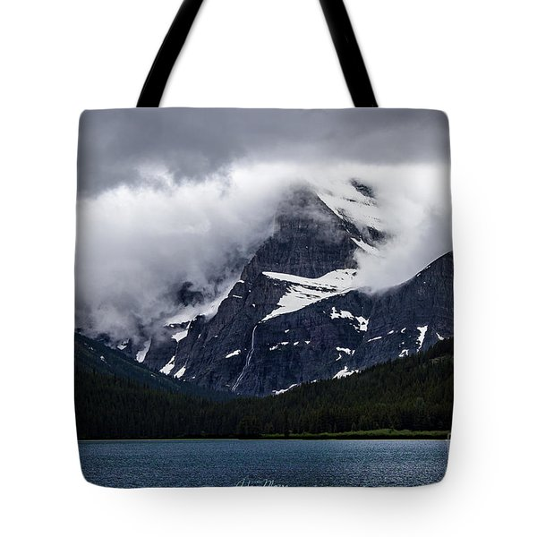 Cloaked In Storm Tote Bag