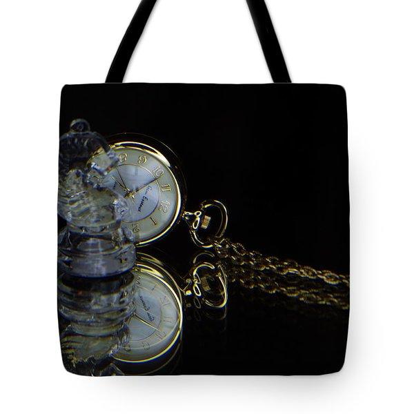 Clock-chess  Tote Bag