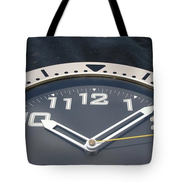 Clock Face Tote Bag