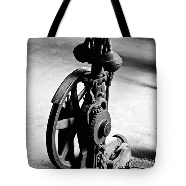 Clock Gear Tote Bag