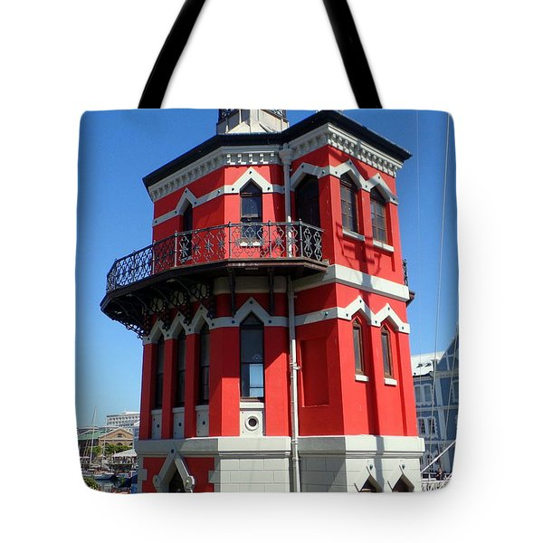 Clock Tower Cape Town Tote Bag