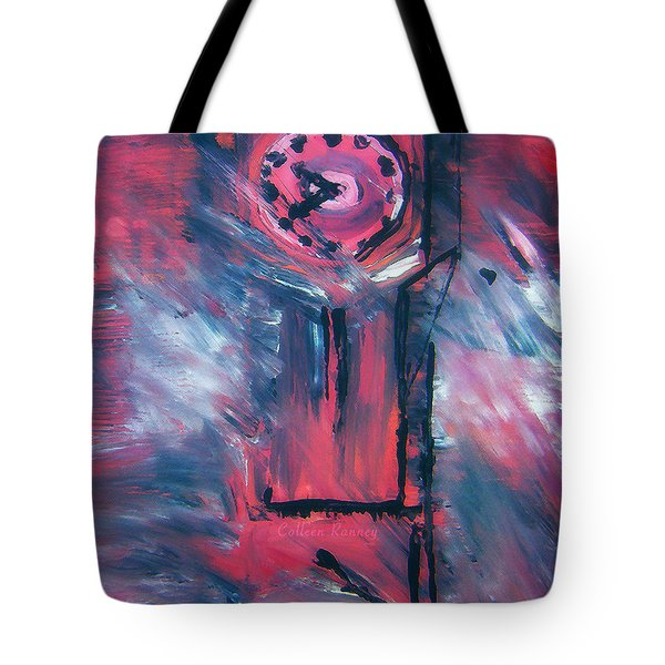 Clock Tower By Colleen Ranney Tote Bag