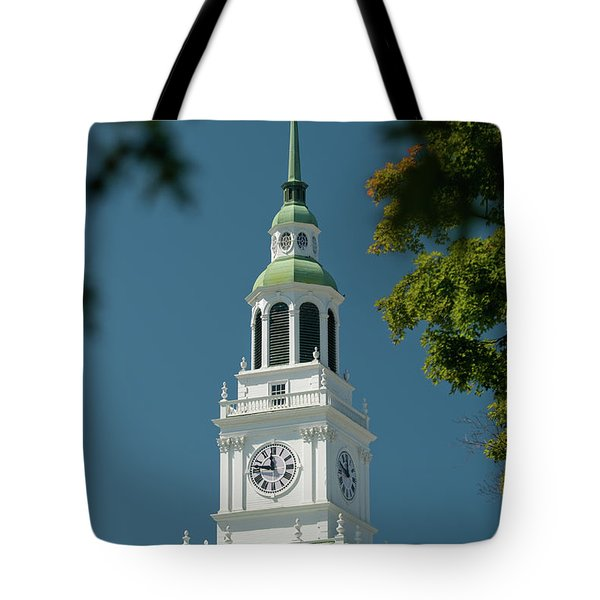Clock Tower Tote Bag