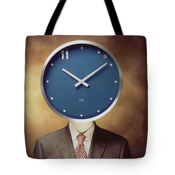 Clockhead Tote Bag