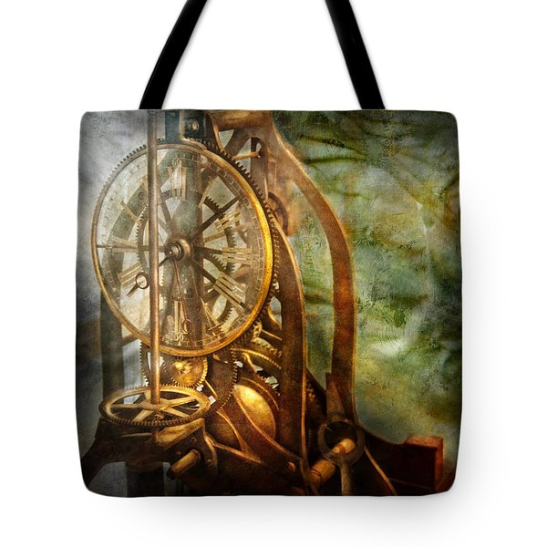 Clockmaker - The Day Time Stood Still  Tote Bag by Mike Savad