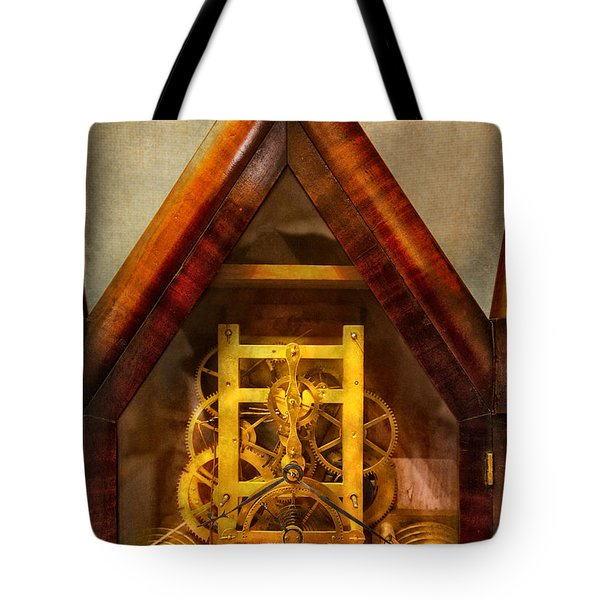 Clocksmith - Clockwork  Tote Bag by Mike Savad