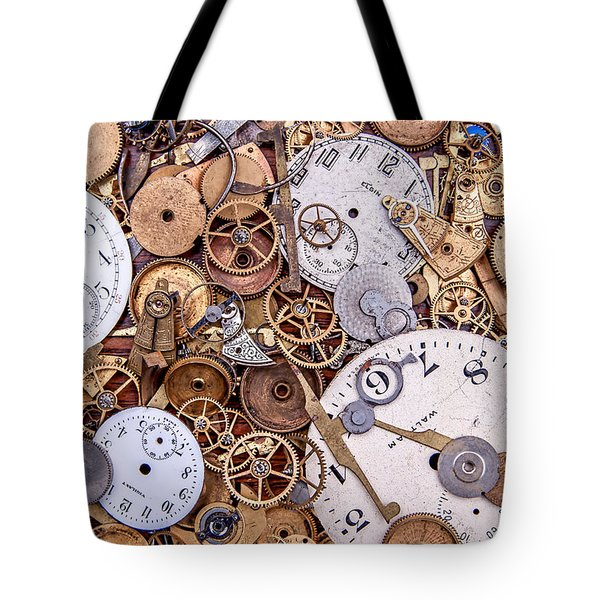 Clockworks Still Life Tote Bag