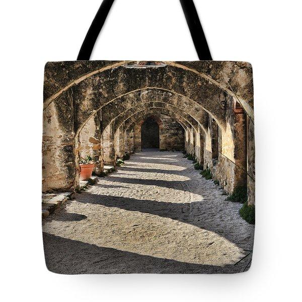 Cloistered - Mission San Jose Tote Bag