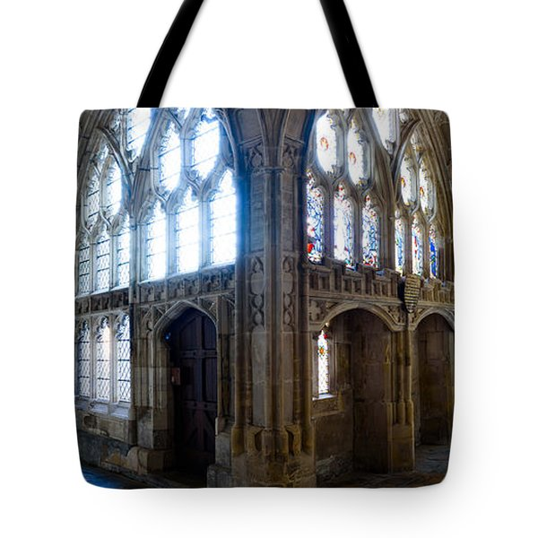 Cloisters, Gloucester Cathedral Tote Bag by Colin Rayner