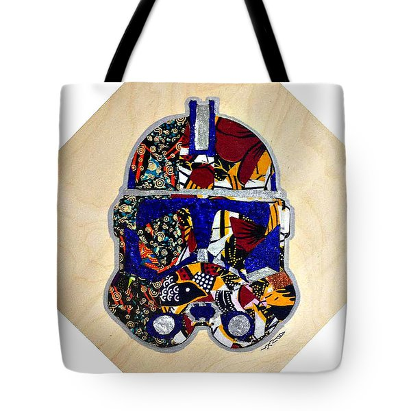 Clone Trooper Star Wars Afrofuturist Tote Bag