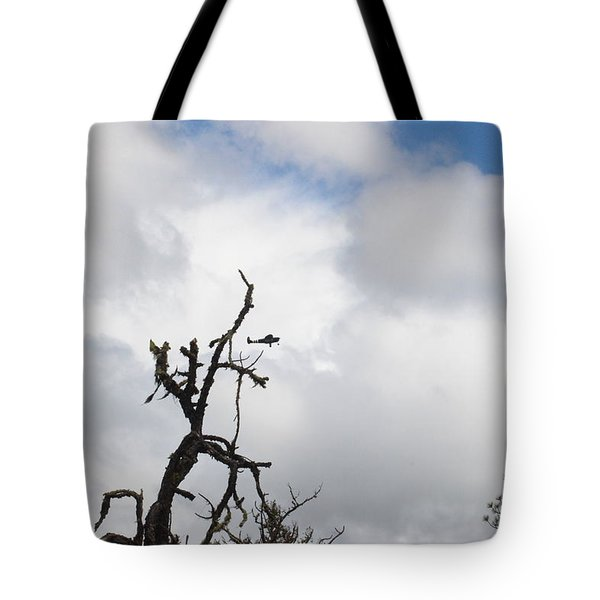 Tote Bag featuring the photograph Close Call by Marie Neder