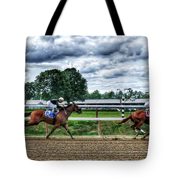 Close Competition Tote Bag