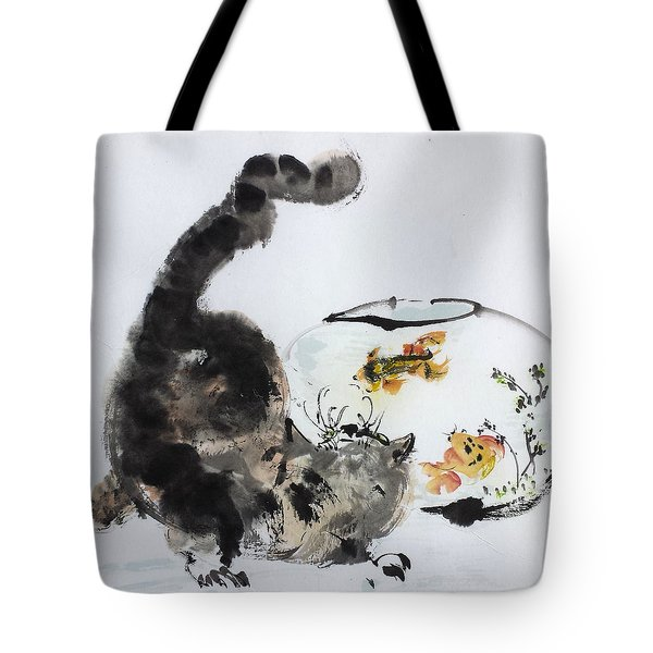 Close Encounter Tote Bag by Laurie Samara-Schlageter