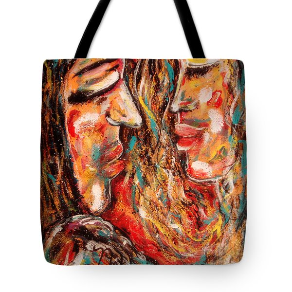 Close Encounter Tote Bag by Natalie Holland