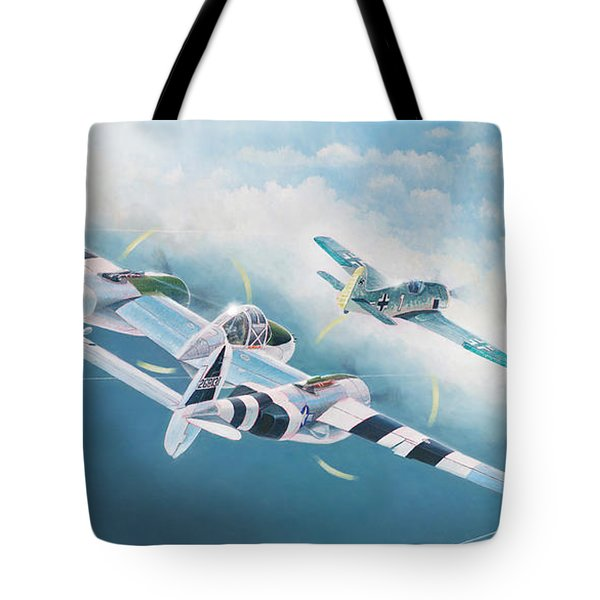 Close Encounter With A Focke-wulf Tote Bag