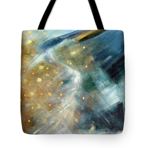 Close Encounter With A Great Blue Tote Bag