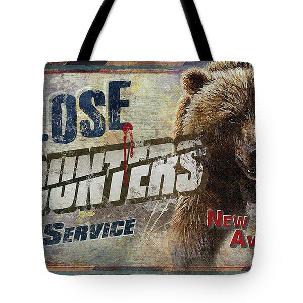 Close Encounters Bear Tote Bag
