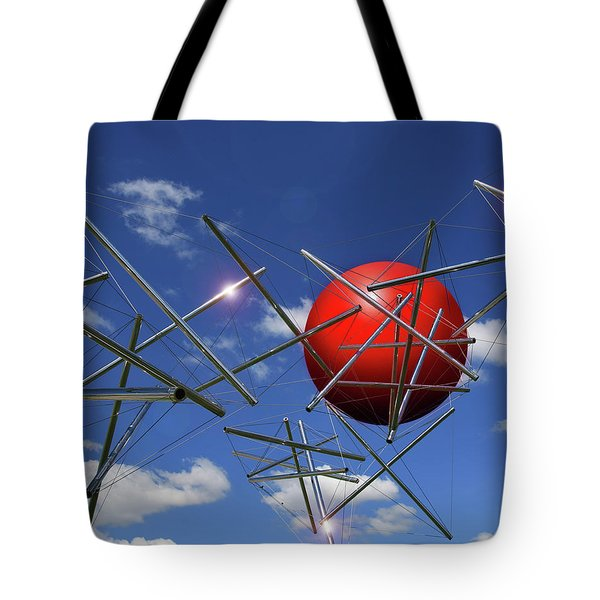 Tote Bag featuring the photograph Close Encounters by Christopher McKenzie