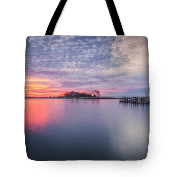 Close Of The Evening Tote Bag by David Cote