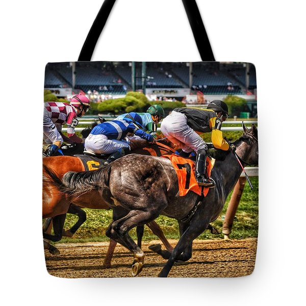 Close Running Tote Bag