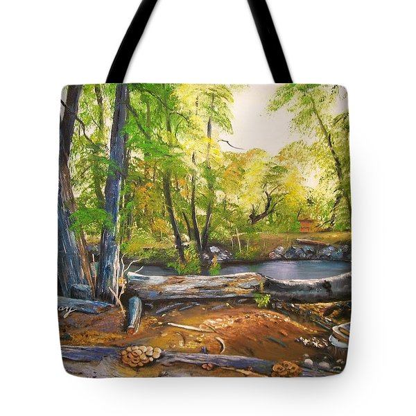 Close To God's Nature Tote Bag