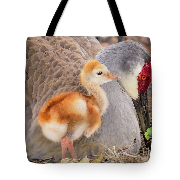 Close To Mother Tote Bag