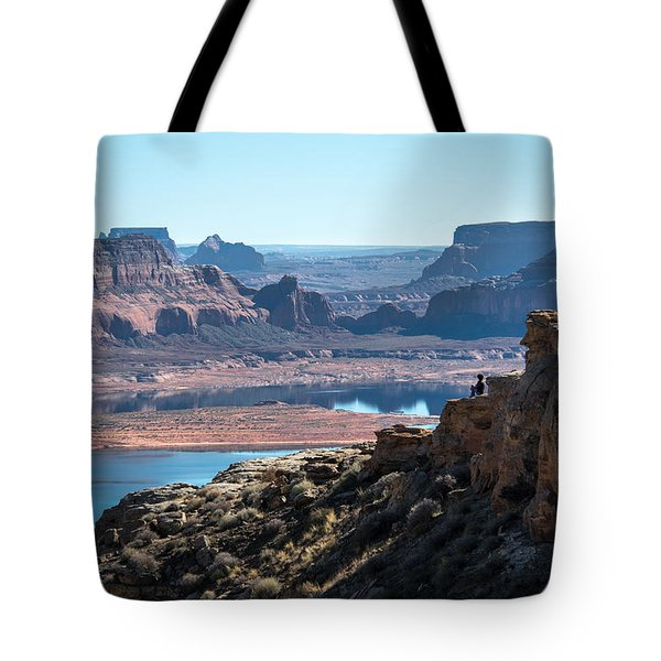 Close To The Edge Tote Bag