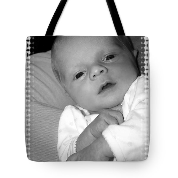 Close Up Baby Tote Bag