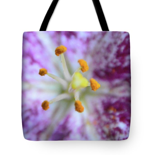 Close Up Flower Tote Bag