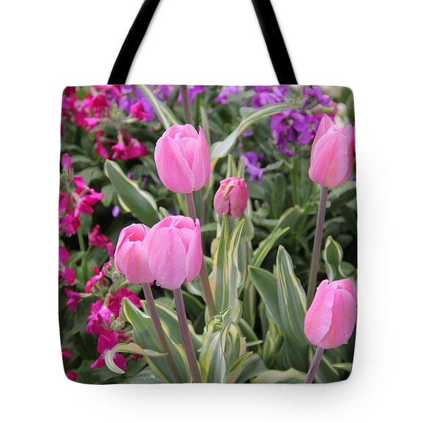 Close Up Mixed Planter Tote Bag