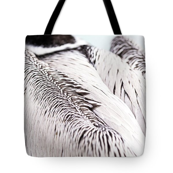 Close-up Of Brown Pelican Tote Bag