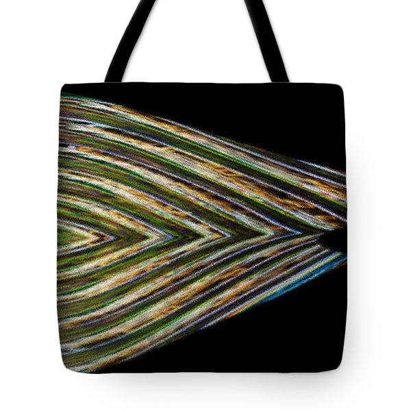 Tote Bag featuring the digital art Closed Eye by Wendy Wilton