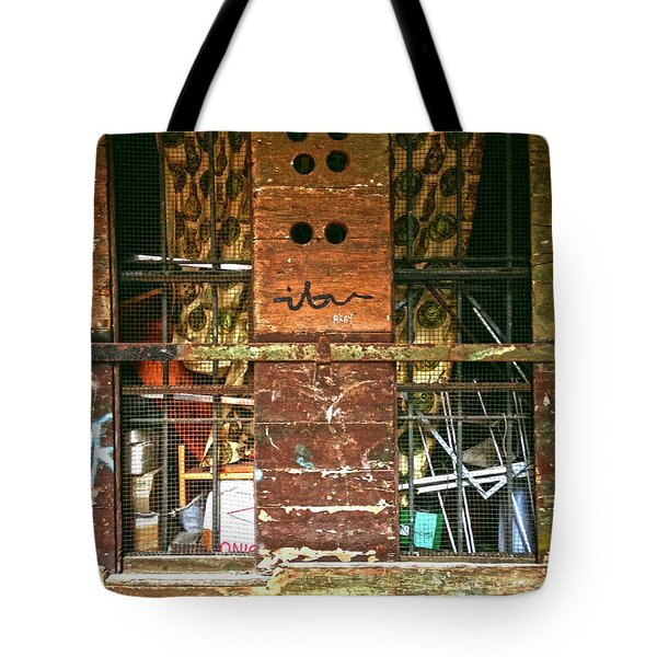 Tote Bag featuring the photograph Closed Up by Anne Kotan